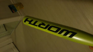 Softball bat, used once (excellent condition)