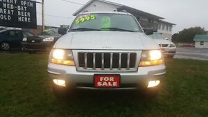 JEEP GRAND CHEROKEE *** FULLY LOADED 4X4 *** CERT $5995
