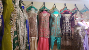 40% OFF Pakistani and Indian Clothing Party Wear Shalwar Kameez