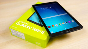Tablette SAMSUNG Galaxy Tab-E 9.6'' 16GB Android Nougat 7.1NOIR