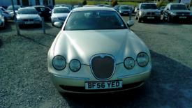 06 Jaguar S Type Auto 2.7 Diesel 4 Door MOT 03/09/2021 Leather