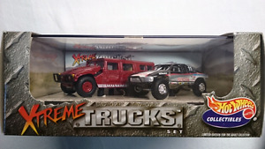 HOT WHEELS DIE CAST XTREME TRUCKS HUMMER BAJA RACER MINT