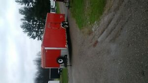 26 ft enclosed trailer