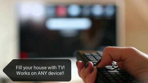 Fill your house with TV for one low price! FREE 2-DAY TRIALS!