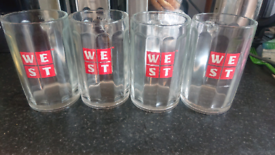 West brewery tankards