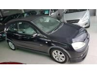 2002 VAUXHALL CORSA SXI 16V Black Manual Petrol