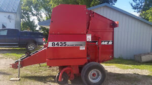 Round baler/1460 combine/NH 166 swath turner/JD mower