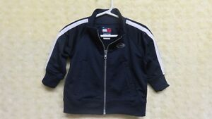 Tommy Hilfiger Baby Boy Zipper Front Jacket Navy Size 6-12 Mths