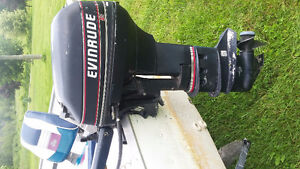 15hp Evinrude  Motor For sale