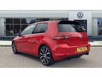 2016 Volkswagen Golf 2.0 TSI GTI 3dr DSG [Performance Pack/Nav] Petrol Hatchback