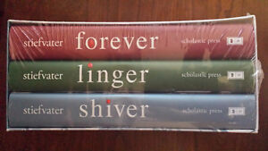 Shiver/Linger/Forever Book Trilogy Box Set by Maggie Stiefvater