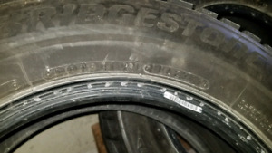 4 Blizzak Winter Tires 195 65 R15 91H