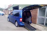 2010 VW Caddy Life Diesel Automatic Disabled Drive From Wheelchair