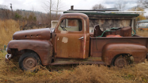Project or parts truck 1951 Ford F1