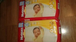 2 pcks of Newborn Huggies for sale $20