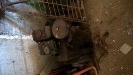 Diesel mixer engine