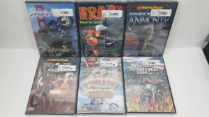 Motorcycle and street bike/ stunting DVDs