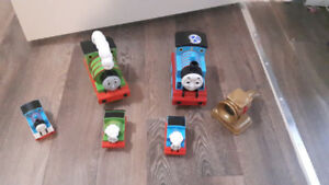 Thomas The Train engines with lights and sounds
