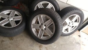 4 brand new tires and rims