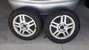 "15"" tires on rims"