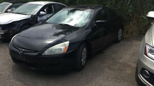 2003 Honda Accord Coupe (2 door) 2.4L Manual transmission2500Obo