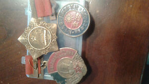 1930s and 50s Chinese medals