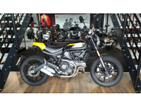 2017 Ducati Scrambler Full Throttle with only 392 Miles!