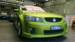 2007 Holden Ute VE SV6 Green Sports Automatic Utility