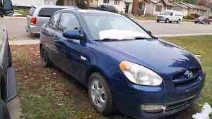 2007 Hyundai accent hatchback