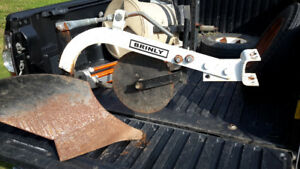Brinly single bottom ground plow for sale