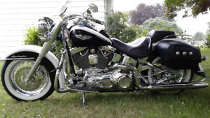 Show bike has wone many shows mint condtion / AND Trailer