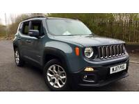 2017 Jeep Renegade 1.4 Multiair Longitude 5dr Manual Petrol Hatchback