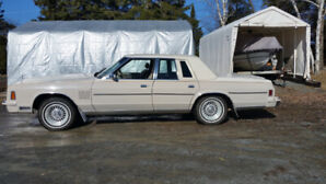 1981 Chrysler New Yorker with no rust.