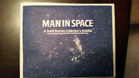 1969 MAN IN SPACE BRONZE COINS (US SPACE PROGRAM)