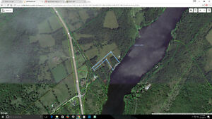 Beautiful waterfront building lot in Stone Mills Township!