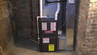 **** Furnace / Gas piping / HVAC installations ****