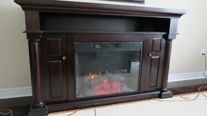 FIREPLACE CREDENZA
