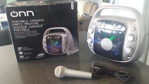 ONN Portable karaoke Party Machine
