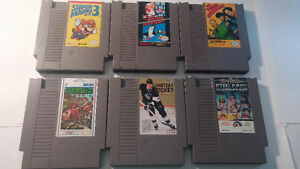 12 Classic NES Games Lot