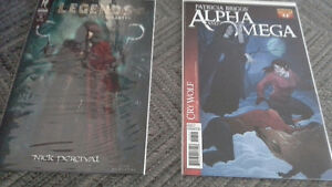 Legends -The Enchanted & Alpha and Omega -Cry Wolf comics