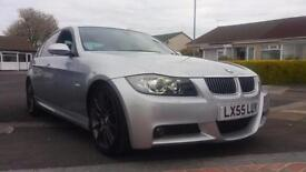 2005 55 BMW 330D M-SPORT AUTOMATIC.MASSIVE SPEC WITH LOADS OF FACTORY EXTRAS.FSH