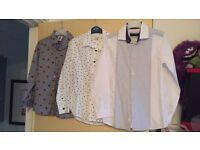 Boys Riverisland shirts
