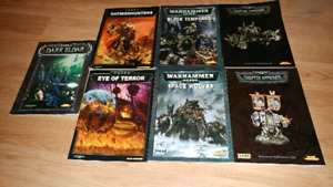 Warhammer 40k 3rd-5th edition codexs for trade/sale