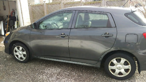 Toyota matrix 2009 low km