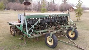 JD LZA Seed Drill (12 foot, hoe drill, modified for Zero-Till)