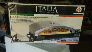 New! Never used! Love pizza. Make your own with this pizza oven