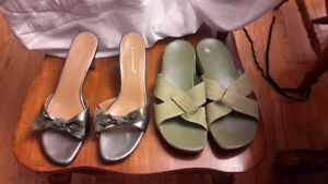 Rockport and A Marinelli leather sandals-size 11 and 13