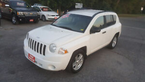 2008 JEEP COMPASS 4X4 SUV *** CERTIFIED *** $5995