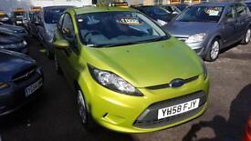 Ford Fiesta 1.25 ( 82ps ) Style 3 DOOR - 2008 58-REG - FULL 12 MONTHS MOT