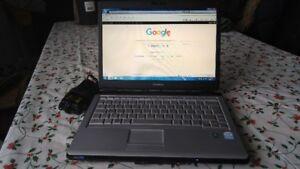 "Toshiba Satellite U300 13.1"" Widescreen Laptop for Sale _ $140"